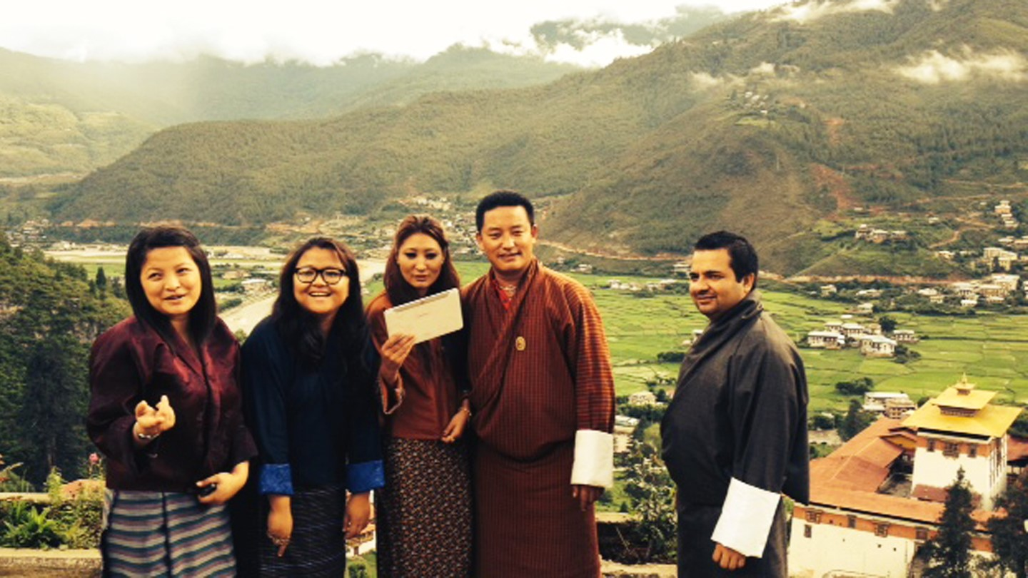 Bhutan: Training of trainers